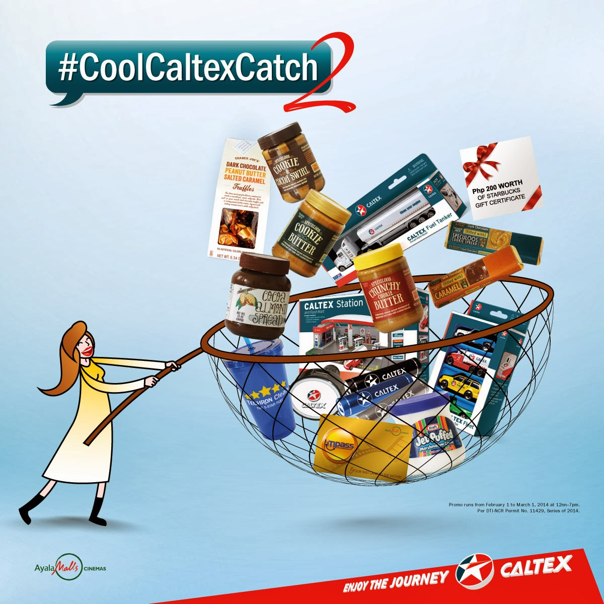 Fuel Up at Caltex for Instant Cool Catch