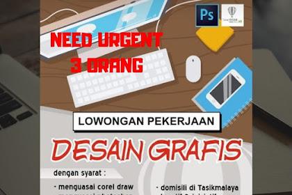 Loker Design Grafis Prima Digital Printing Tasikmalaya