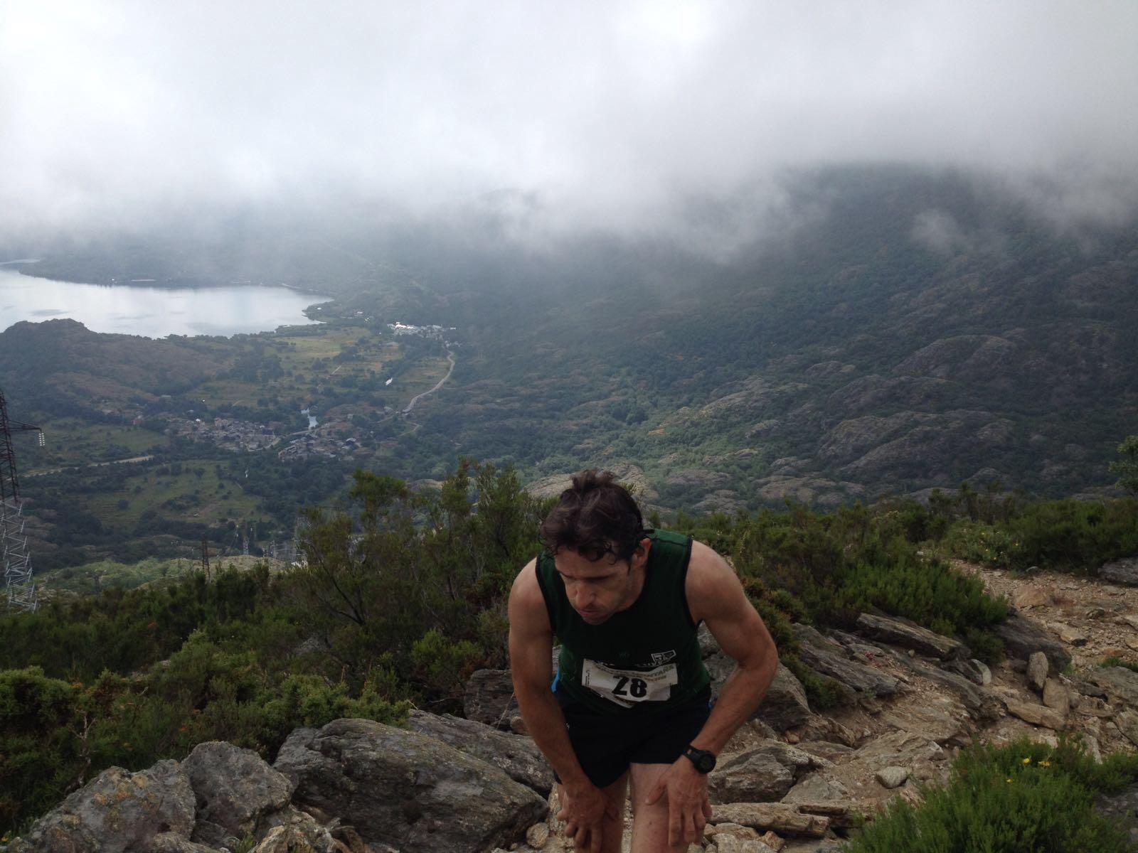 Fernando Casquero, en la Carrera por Montaña de Sanabria. /TRAILCYL