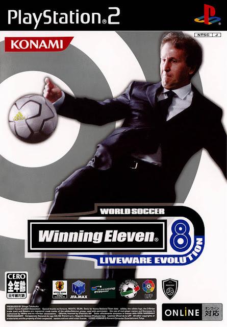 World Soccer Winning Eleven 8 Liveware Evolution ps2 iso rom download