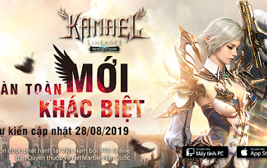 Lineage 2 Revolution Vietnam chính thức công bố hiện diện của tộc mới Kamael