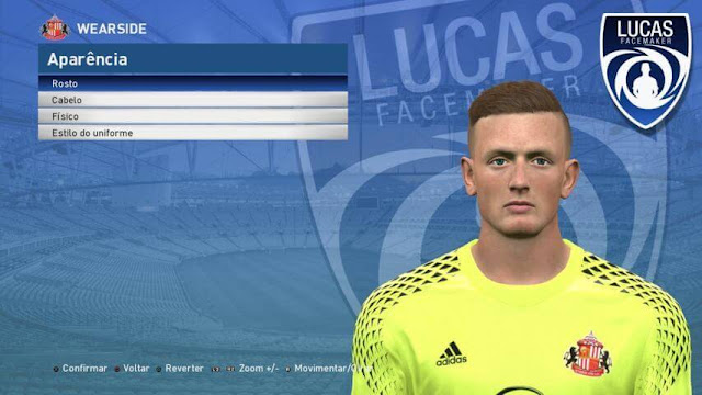 Jordan Pickford Face PES 2017