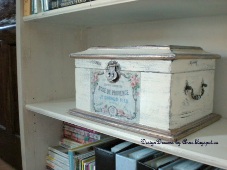 French Vintage Keepsake Box by Design Dreams by Anne