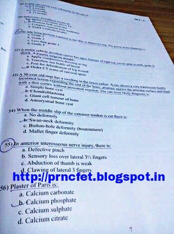 Jipmer Question Paper Pdf