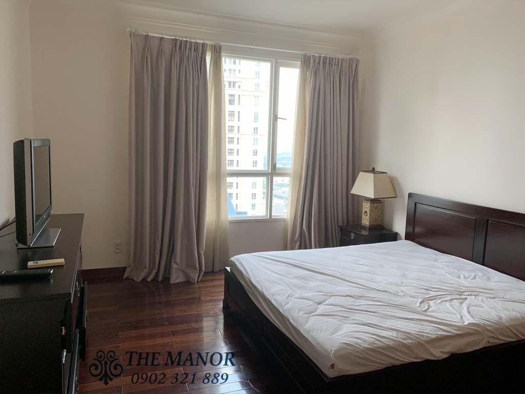 Giường ngủ 2 căn hộ the manor 1 cho thuê 167m2