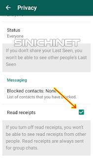whatsapp, app, android, aplikasi, fitur whatsapp, read receipt, tips, tutorial, menghilangkan tanda centang biru whatsapp
