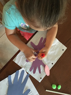 Hand Print Butterfly Craft