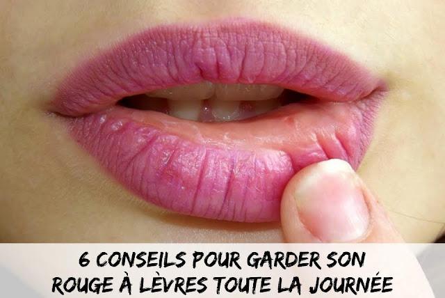 Astuces beauté - astuces maquillage - lèvres - bouche parfaite