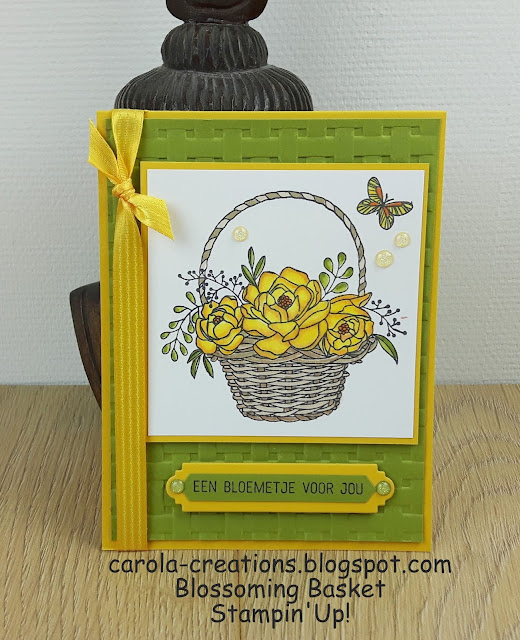 Stampin'Up! Blossoming Basket IJsselstein