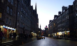 La Royal Mile.