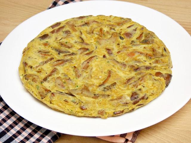 tortilla-huevos-setas-niscalos-rovellons