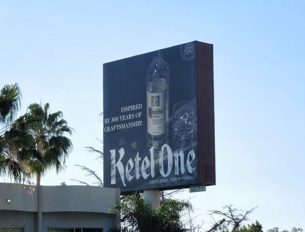 Ketel One Vodka billboard Nov 2013