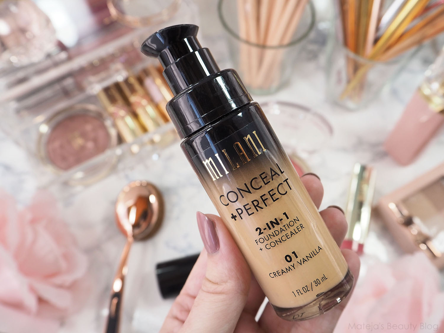 Milani Conceal + Perfect 2-in-1 Foundation + Concealer - Mateja's ...
