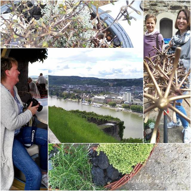 Bloggertreffen Koblenz: Gleich dreimal Nicole: Shabbylina, Schneckenhaus und Niwibo auf der Landpartie