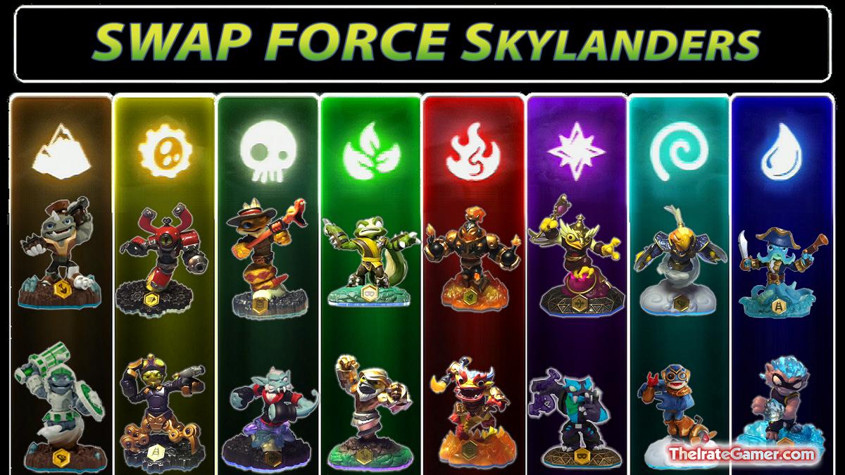 Pin Skylanders Swap Force New Revealed At E3 2013 Xbox 360 ...