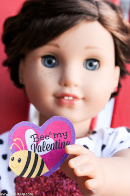 printable Valentine's for American Girl