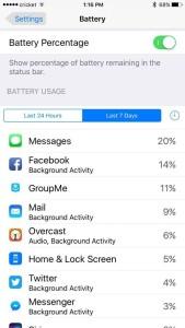 Cara mengecek battery di iphone