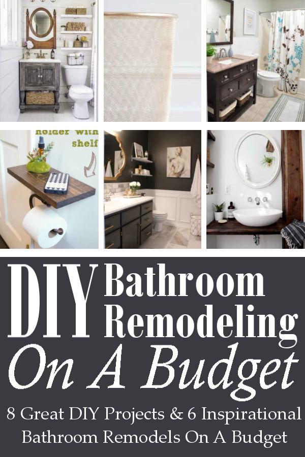 DIY Home Sweet Home: DIY Bathroom Remodeling On A Budget