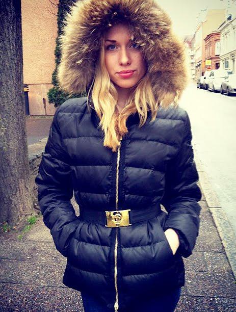 Downjacket Fashion Black Moncler Angers