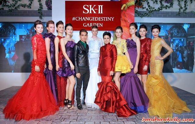 SK-II Festive Haute Couture Fashion Show by Hatta Dolmat, Hatta Dolmat Wedding Dress, Hatta Dolmat for SK-II, SK-II Hatta Dolmat Fashion Show, Change Destiny, SK-II Limited Edition Facial Treatment Essence, SK-II