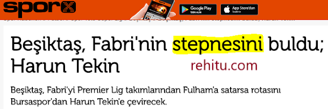 Fabri'nin Stepnesi!