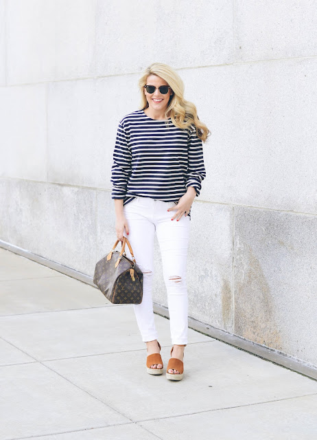 The Best Basic Striped Tee Everyone Needs (Under $30!)