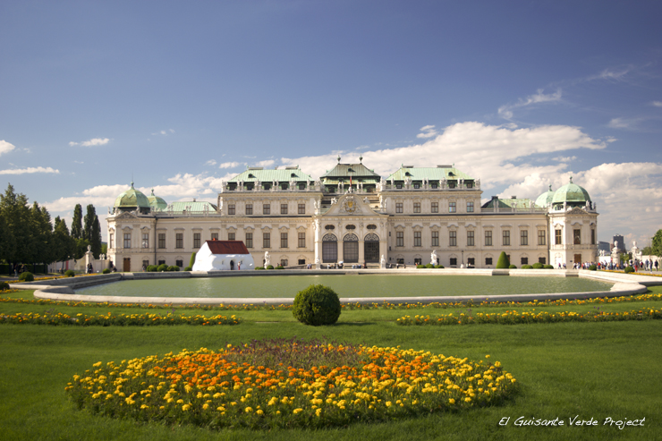 Belvedere Superior - Viena, por El Guisante Verde Project