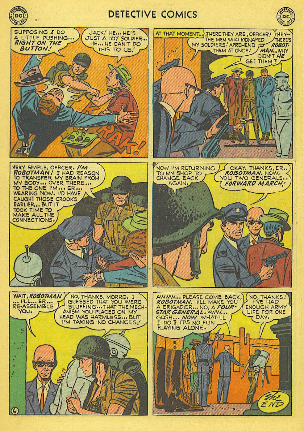 Read online Detective Comics (1937) comic -  Issue #173 - 23