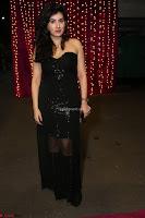 Archana Veda in Black Sleevless gonw at at Zee Telugu Apsara Awards 2017 04.JPG