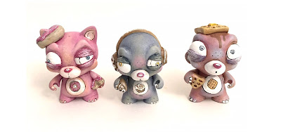 Five Points Festival 2018 Exclusive Scratch 'N Sniff The Breakfast Bears Custom Figures by One-Eyed Girl