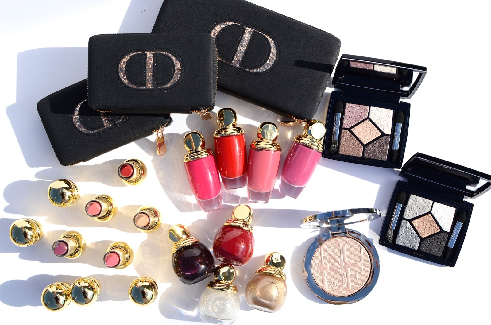 Dior Splendor Holiday 2016 Makeup Collection Swatches Review Photos Look Face