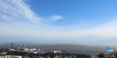 Sevilla - Contaminación por inversión térmica - Marzo 2016
