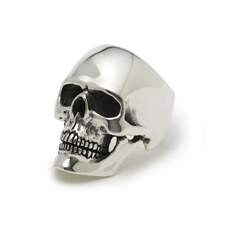Skull Ring - The Great Frog - Halloween Jewellery