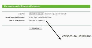 Versão do Hardware do Roteador V4
