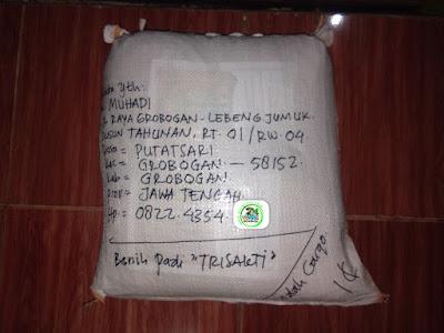Benih pesana    MUHADI Grobogan, Jateng.   (Sesudah Packing)