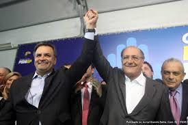 Aécio e Alckmin