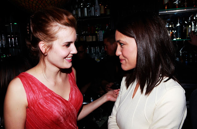'The Scent of Rain and Lightning' actress Maggie Grace at Global Green USAs Pre Oscar Party