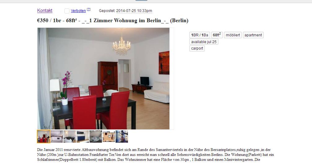 Annafinkel 06581 563010 vorkassebetrug fraud scam - 6 zimmer wohnung berlin ...