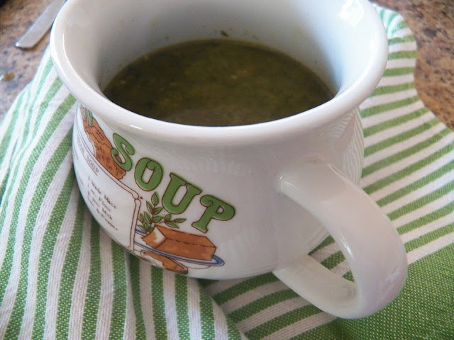 Spinat Suppe (Spinach Soup )