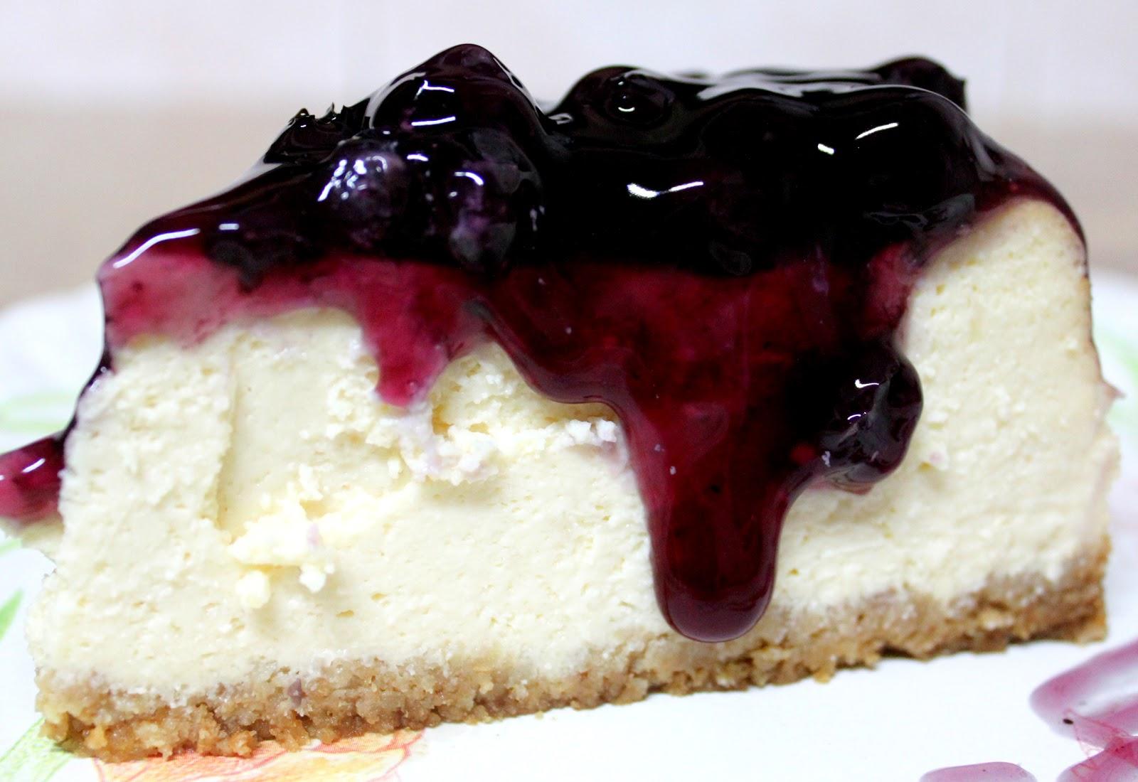 Recipe Blueberry Cheesecake iaremyne