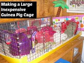 Guinea pigs rule making a large inexpensive guinea pig cage for How to make a cheap guinea pig cage