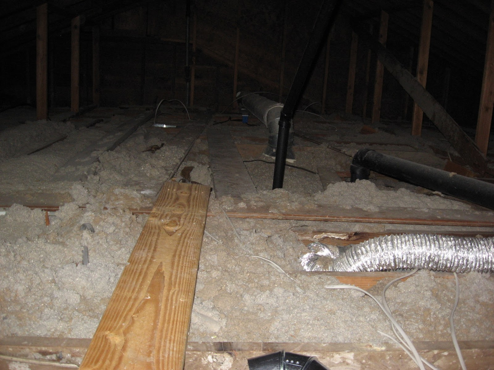 Energy Conservation How To Attic Floor Pits Adding To A