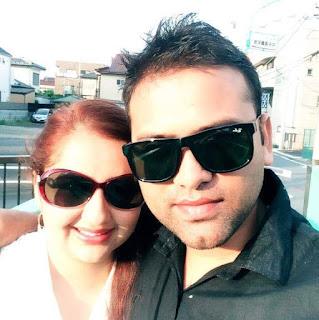Shreejana Paudyal & Gunraj Adhikari,Nepali Couple In Love