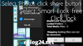 How to lock / Hide your Android images videos sms