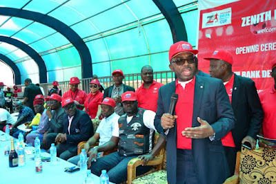 ZENTH BANK RESTATES COMMITMENT TO SPORTS DEVELOPMENT   Nigerian: Breaking News In Nigeria