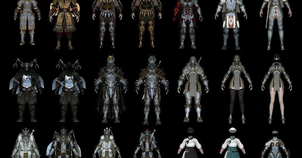 BDO Armors & Weapons Pack I 2 0 [HDT Cloth] ~ Eskyrim