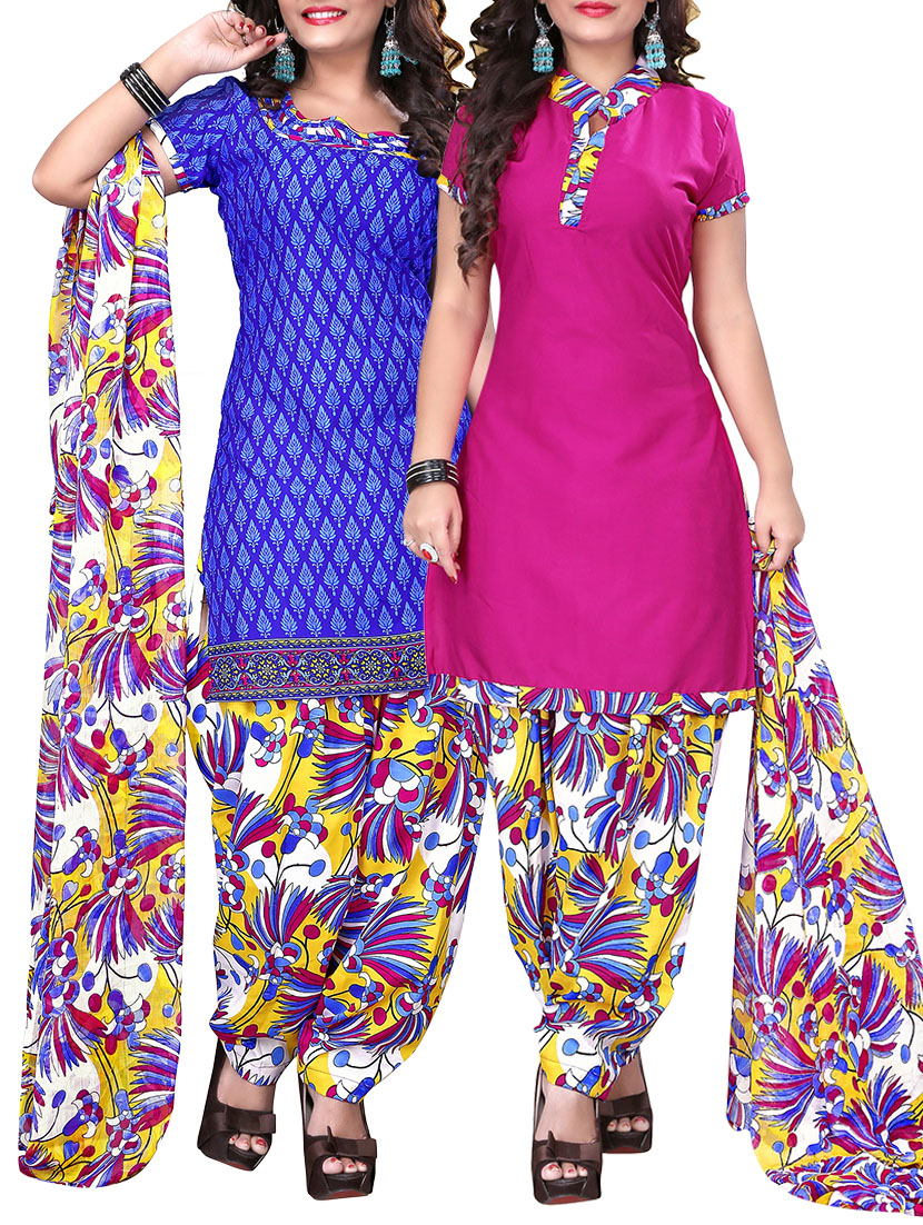 Peppiest Punjabi Suits you'll find on Online Shopping Hubs