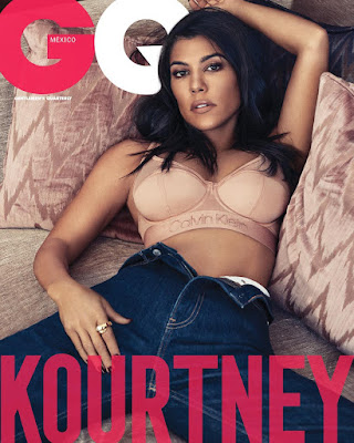 Kourtney Kardashian in stunning shots for GQ Mexico