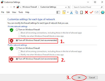 Cara Mematikan Windows Firewall Permanen