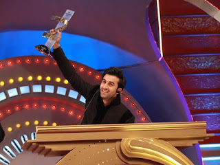 Bollywood Star Randhir Kapoor With Award